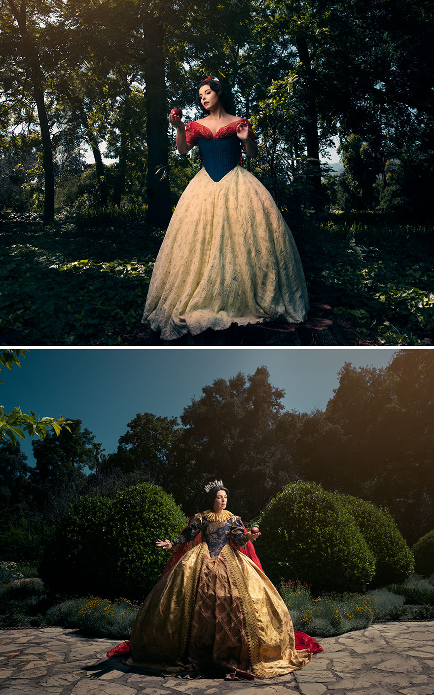 Snow White reimagined as queen