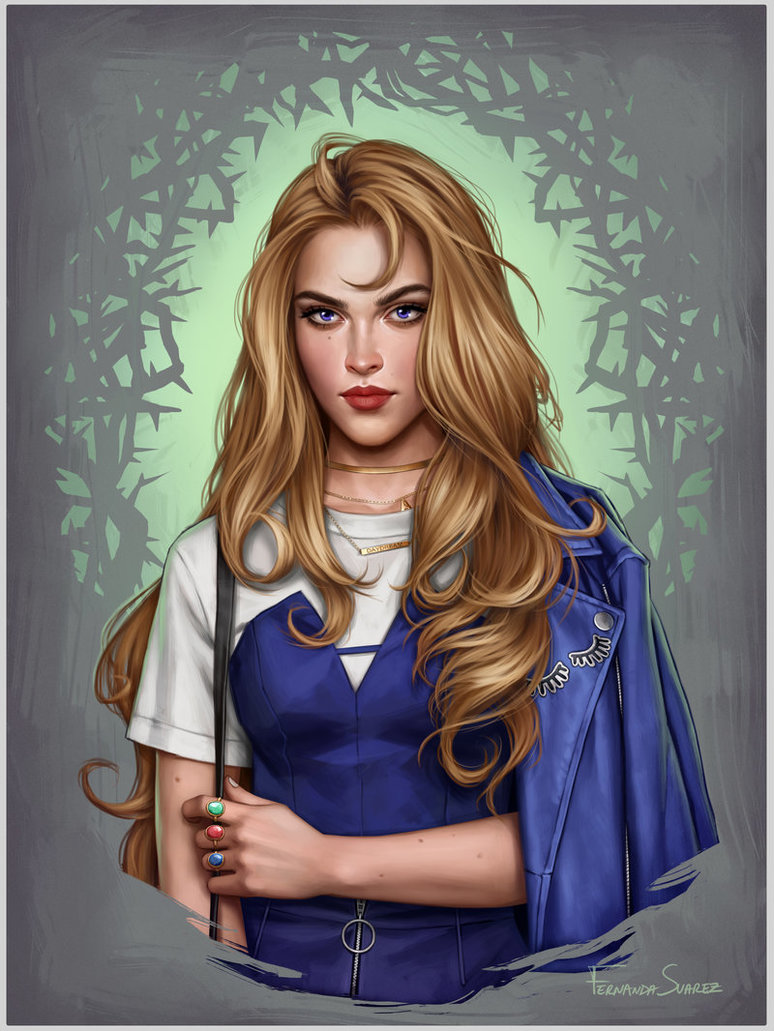 aurora by fdasuarez dbpl1c4 - How Disney Princesses Would Look If They Lived in 2019