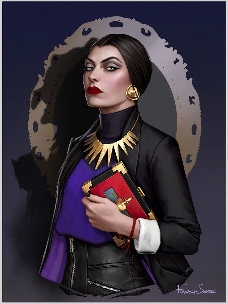 evil queen by fdasuarez dccypto - How Disney Princesses Would Look If They Lived in 2019