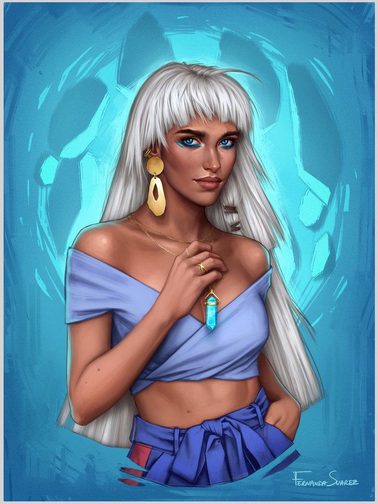 kida by fdasuarez dc38t8p - How Disney Princesses Would Look If They Lived in 2019