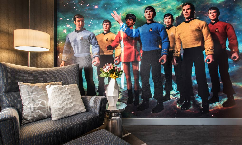 star trek 2 - 14 Outrageous geeky themed hotel rooms