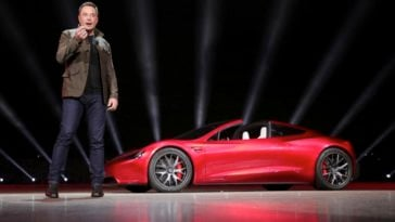 """Upgraded Tesla Roadster Is The """"Fastest"""" Commercial Car to Date, It's The Price That Stings 17"""