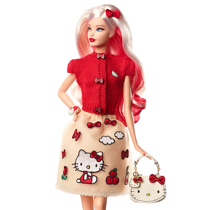Hello Kitty Celebrates 43rd Birthday by Getting Her Own Barbie Doll 12