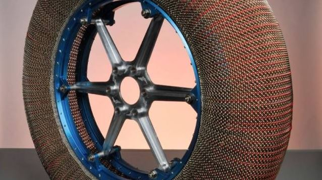 NASA makes tires that don't go flat