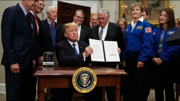 America maned moon mission