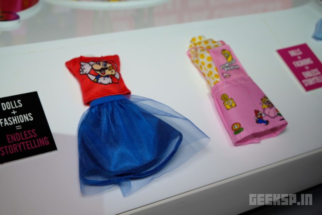 Barbie's latest outfits are covered in Super Mario, Hello Kitty, and other geeky franchises 10