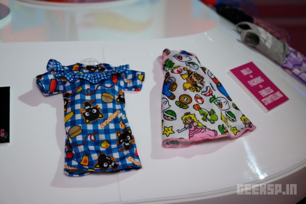 Barbie's geeky outfits