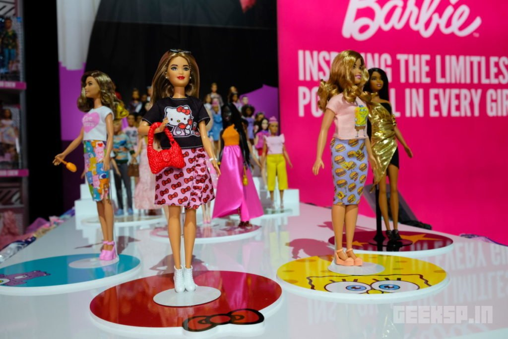 Barbie's latest outfits are covered in Super Mario, Hello Kitty, and other geeky franchises 12