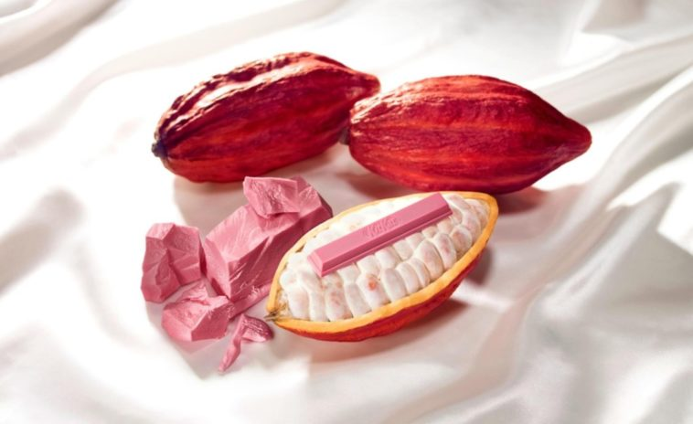Nestle is making a pink Kit Kat from ruby chocolate