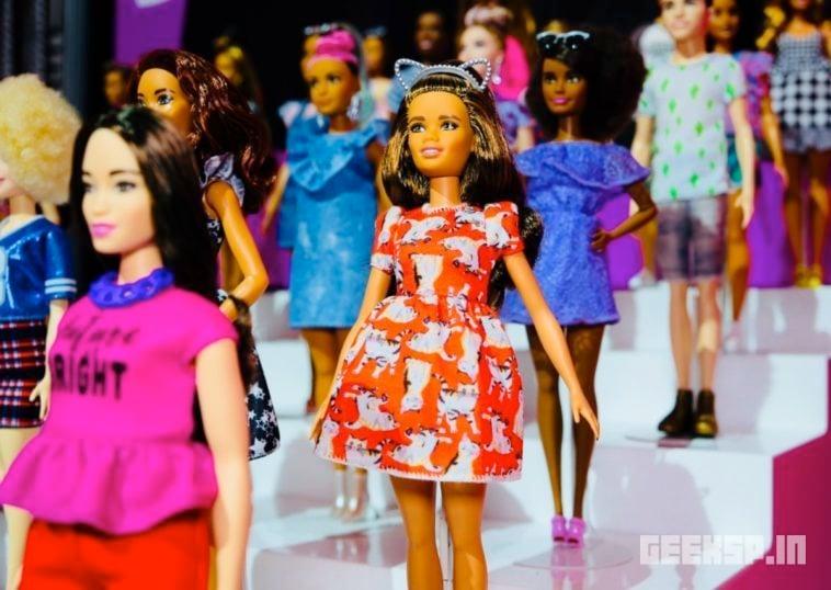 Barbie's Super Mario outfits
