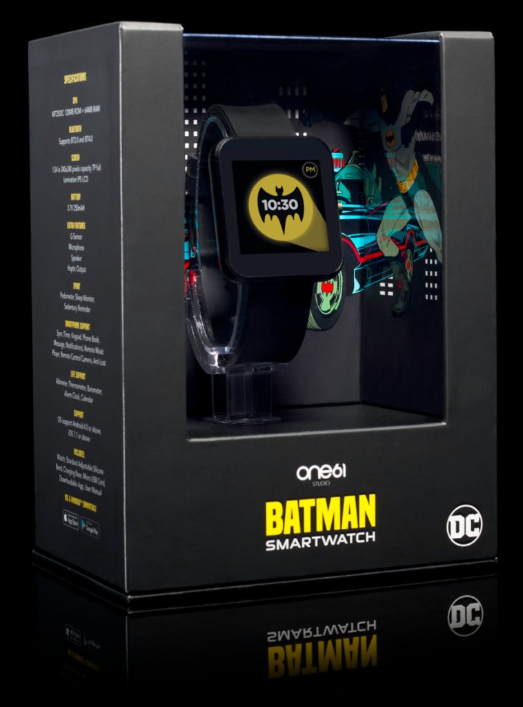 We're going bats over these Batman and The Flash smartwatches 11