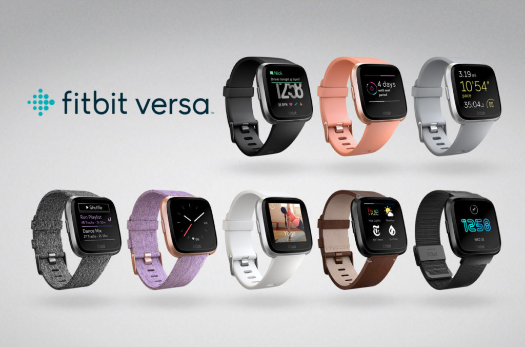 Fitbit Versa product family