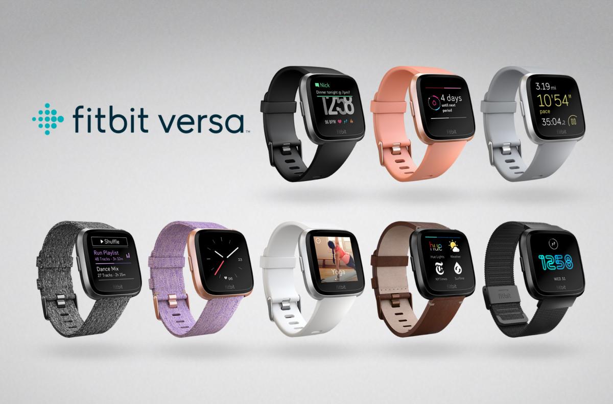 Fitbit Versa Family Lineup 1024x676 - Fitbit's Versa smartwatch looks pretty slick for $199