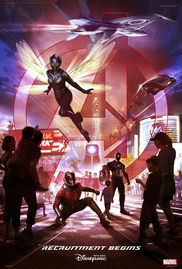 Disney World Marvel Universe Poster