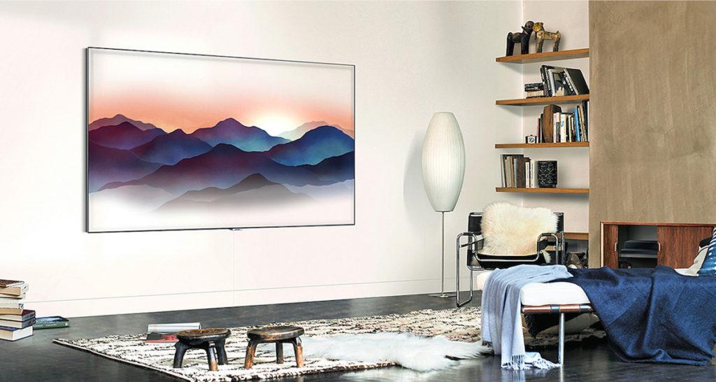 Samsung's latest QLED TVs behave like a chameleon 14