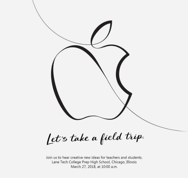 Apple announces a March 27th event focused on education 15