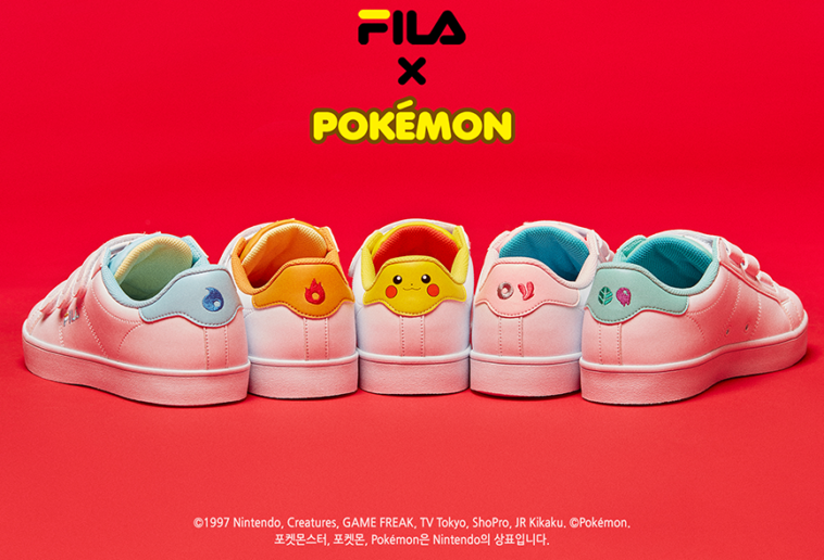 Fila Pokemon sneakers