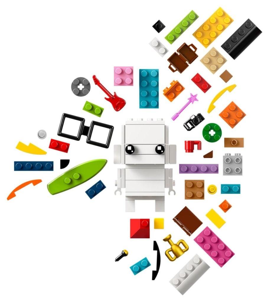 LEGO Go Brick Me lets you build a custom BrickHeadz model of yourself 12