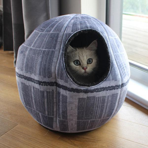 Death star cat bed
