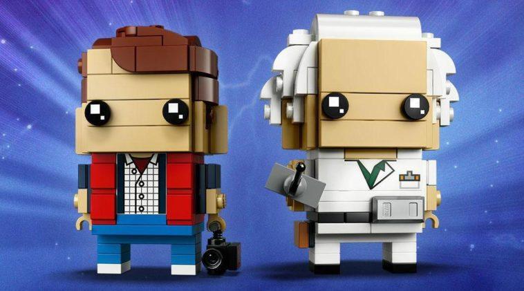 Back to the Future LEGO BrickHeadz