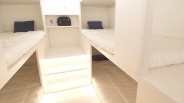 Lower Deck sleeping quarters Airbus