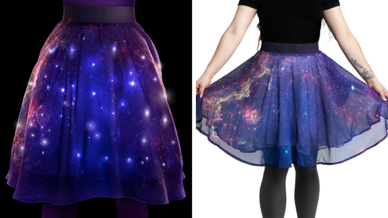 Twinkling Milky Way skirt