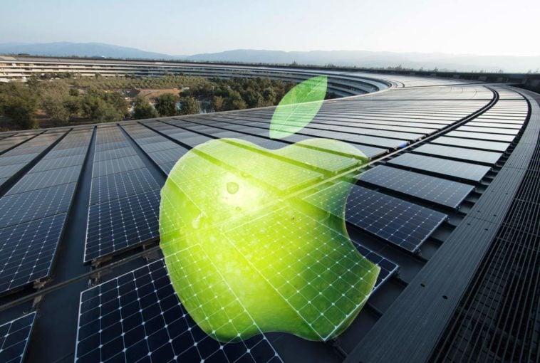 Renewable energy Apple