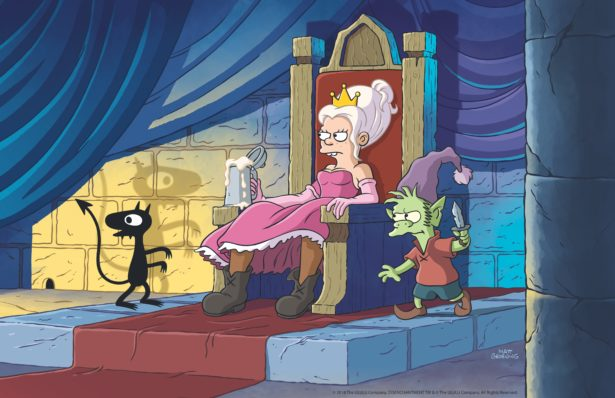 Here are the first images from Matt Groening's new animated series Disenchantment 22