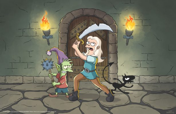 Here are the first images from Matt Groening's new animated series Disenchantment 21