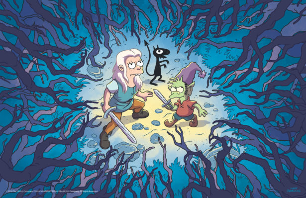 Here are the first images from Matt Groening's new animated series Disenchantment 20