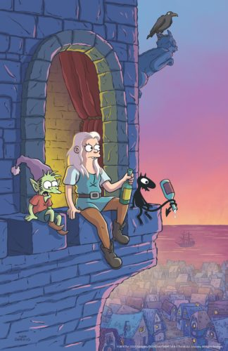 Here are the first images from Matt Groening's new animated series Disenchantment 23