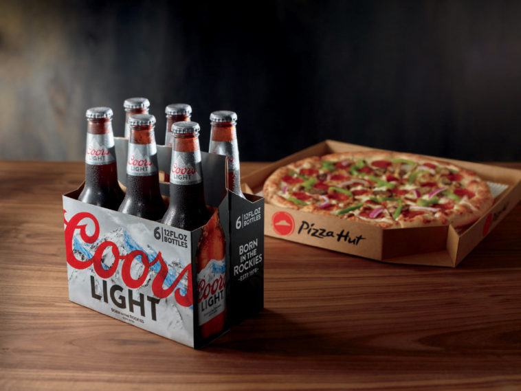 Pizza Hut Beer Delivery