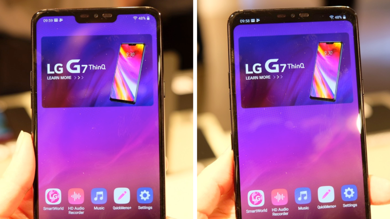 The LG G7 ThinQ offers a disappearing notch and neat AI features 12