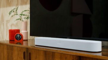 Sonos Beam is a smart and compact soundbar for smaller rooms 14