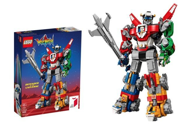 LEGO Ideas Classic Voltron is hitting shelves later this summer 13