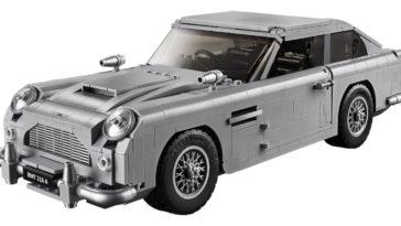 LEGO releases iconic James Bond Aston Martin 20