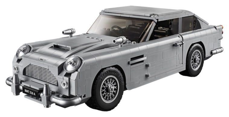 LEGO releases iconic James Bond Aston Martin 14