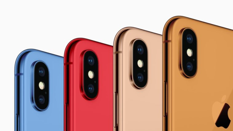 The next iPhone X could come in five different colors 12