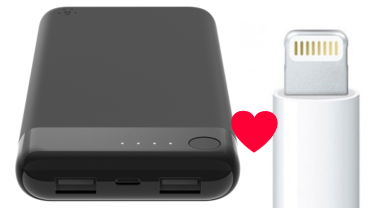 Belkin's BoostCharge is the first power bank that can be charged with a Lightning cable 13
