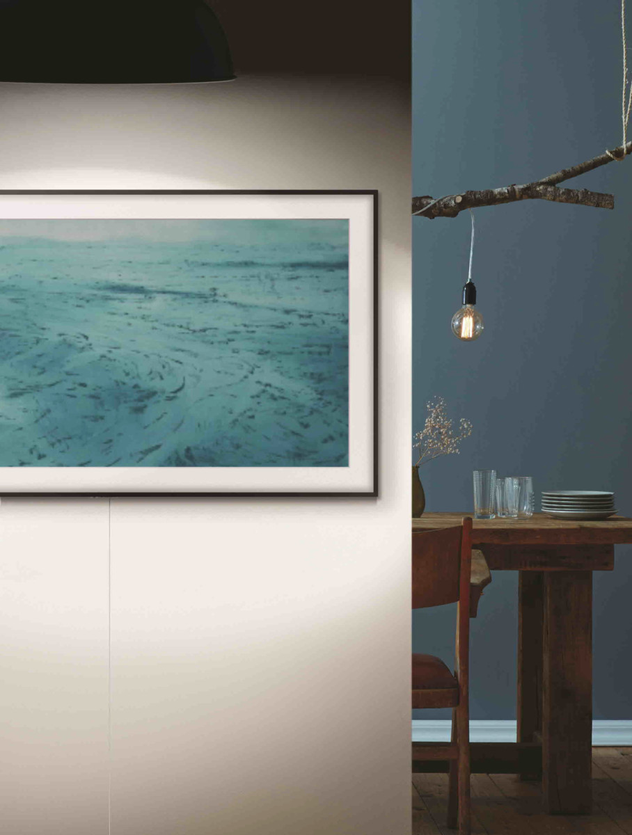 frame 2018 lifestyle images - Samsung's stunning 2018 Frame TV just got smarter with Bixby