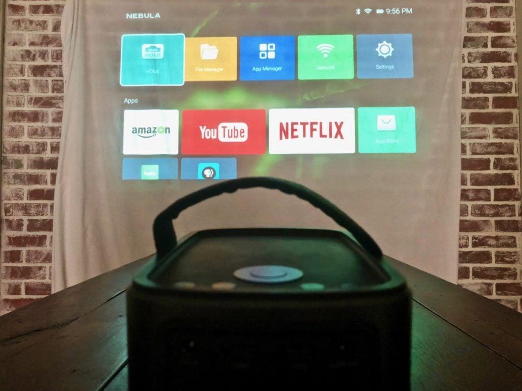 Nebula Mars II portable projector review 14