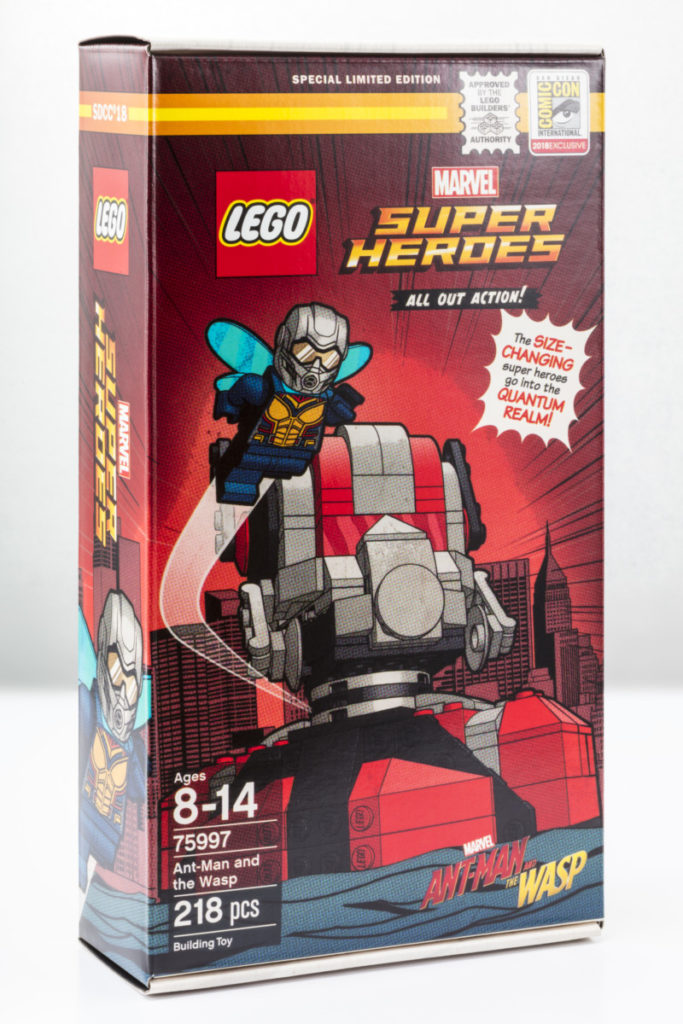 Ant-Man and The Wasp LEGO set is being released exclusively at San Diego Comic-Con 15