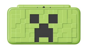 "Nintendo is releasing a Minecraft ""Creeper"" Edition 2DS XL with Microsoft 14"