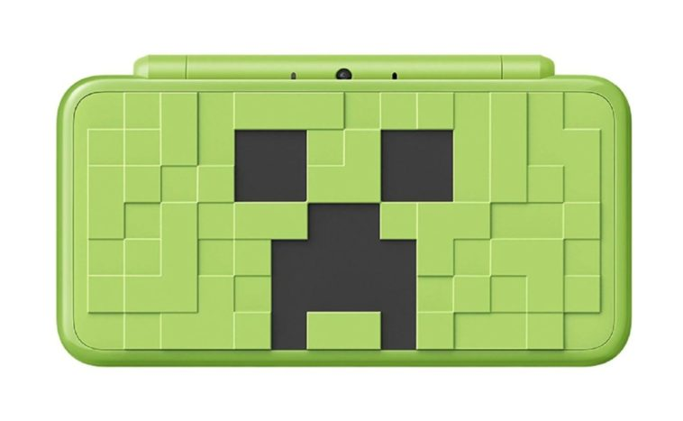"""Nintendo is releasing a Minecraft """"Creeper"""" Edition 2DS XL with Microsoft 13"""