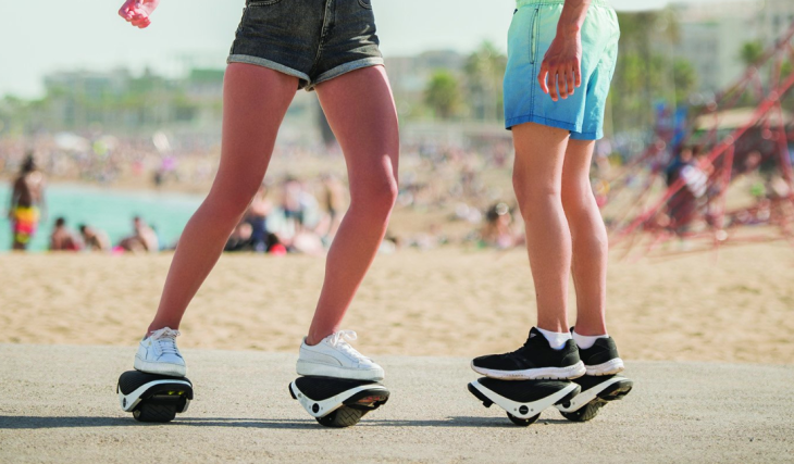 Segway has come out with self-balancing skating shoes 16