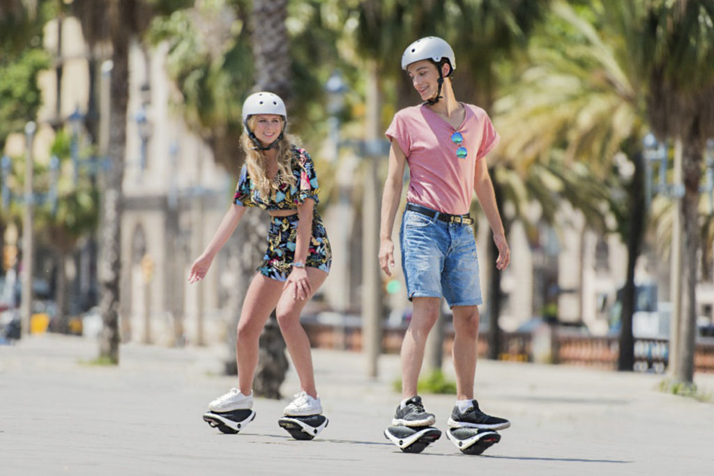Segway has come out with self-balancing skating shoes 12