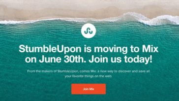 StumbleUpon finally shuts down after heroic 16-year run 16