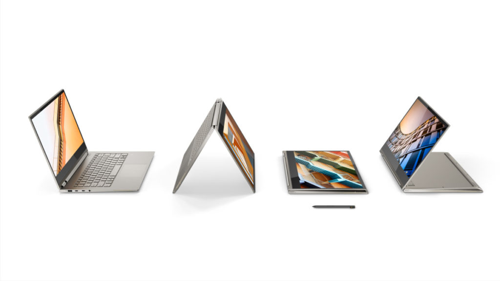 Lenovo totally redesigns its flagship Yoga laptop 13