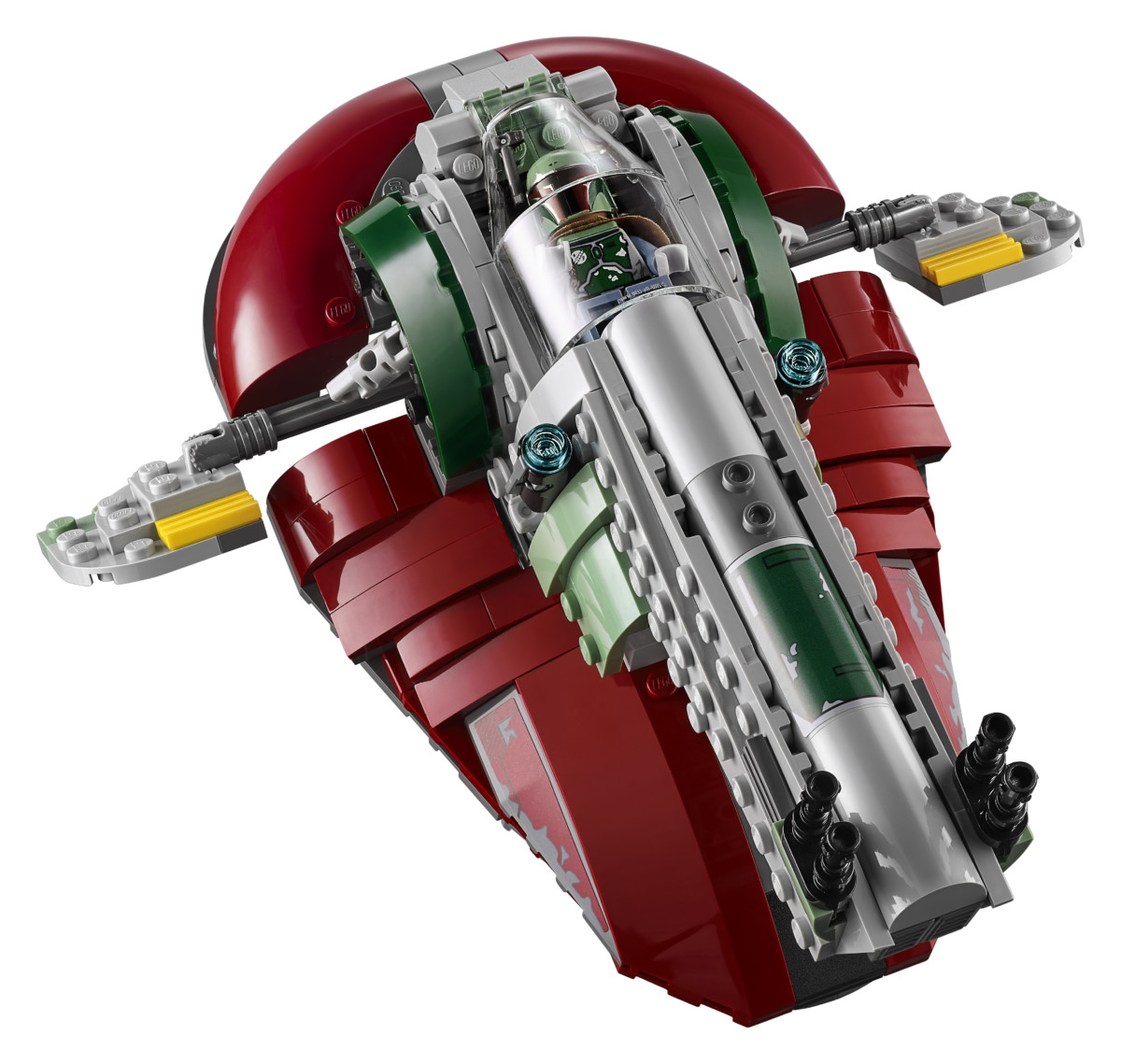 75222 back 02 - LEGO's Star Wars Betrayal at Cloud City is a brilliant recreation of the Empire Strikes Back