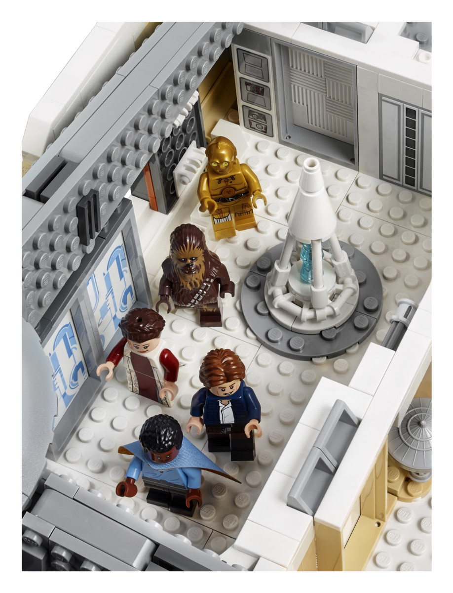 75222 back 07 - LEGO's Star Wars Betrayal at Cloud City is a brilliant recreation of the Empire Strikes Back